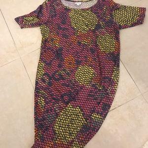 Geometric stretch dress